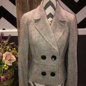 ETCETERA Wool Blend Blazer-Size 4-Excellent Cond.